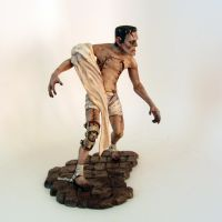 First Steps - Frankenstein's Monster by RyanBuckalew