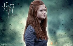 Ginny Wallpaper Hp7 Part 2 by HarryPotter645