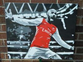 Thierry Henry @ Arsenal by Jimmy-Frank