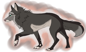Wolf Adoptable (CLOSED) by SpectrumStray