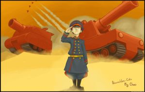 Advance Wars - Colin by choocapic