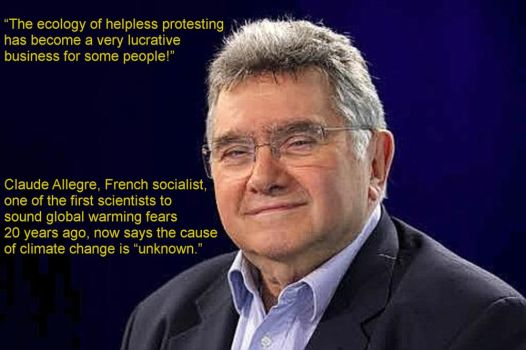 Claude Allegre, French Socialist, climate skeptic by Kajm