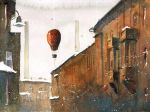 A balloon flight over Nikiszowiec II by sanderus