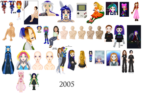 2005 Dolls by AutumnEmbers