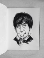 Patrick Troughton - 2th Doctor Who by MatyldaSzytula