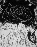 Untitled - black rose by directorjess