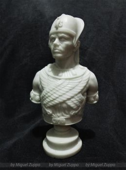 Ramses - Yul Brynner Mini Bust- KIT AVAILABLE by miguelzuppo
