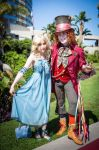 Alice and Mad Hatter by Tink-Ichigo