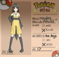 Poke-Village App: Mawile by lolitaii