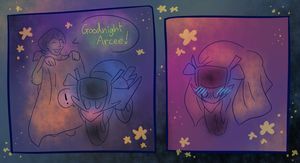Goodnight Arcee! by Bluwiikoon