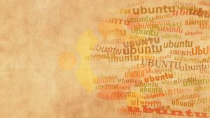 ubuntu word art by hanciong