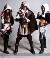 Assassin's Creed: The Deadly Trio by exifri