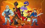 Disney Villians Showcase by ElectricDawgy