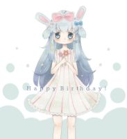 HAPPY LATE BIRTHDAY TO TENSHI by Cheriin