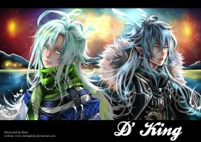 D King Artbook Restock by shrimpHEBY