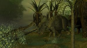 Sarcosuchus by android65mar