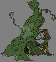 Daughter of the Trees by Virapets