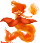 Nobody messes with the princess of flames by riamarie33