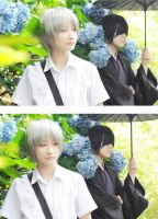 Natsume Yuujinchou_the strange meeting by Dan-Gyokuei