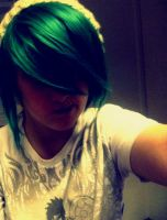 .:Green hair:. by soppy4eva