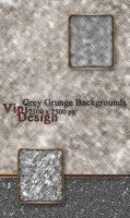 Grey Grunge Backgrounds by elixa-geg