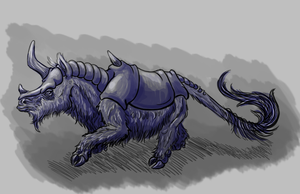 Creature Study 2 08/11/2013 by ShyriaDracnoir