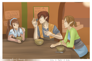 SA: 12 - Dinner with the family by PineapplesHaveFeet