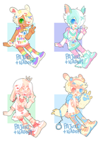 NaJuxi Decora Bunny Collab- CLOSED by Kiwi-adopts