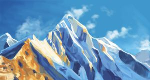 Mountains bg challenge by nienor