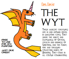 OPEN SPECIES: The Wyt by BudCharles