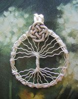Celtic Tree of Life by RachaelsWireGarden
