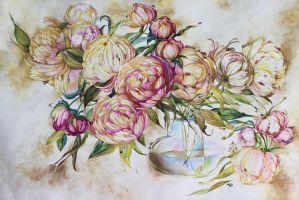 Peonies2 by IrenGold