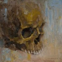Skull 3 by Dubrovskis