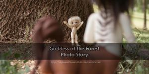 Goddess of the Forest Cover by MySweetQueen-Dolls