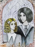 Lenore and Ragamuffin by L1993