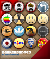 BARKERBADGES by barkerbaggies