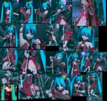 Hatsune Miku outfit romeo cinderella ref sheet by shadowcat-666