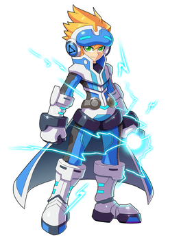 Commission: Azure No.9 by ultimatemaverickx
