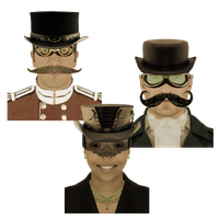 Steampunk Victorian Instant Messaging Icon Mk2 by pendragon1966