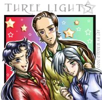 Three lights stage on by luniara