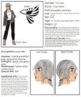Bella Butterfly Ref. Sheet [OLD AND OUTDATED] by Anj-15