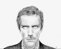 Hugh Laurie by julietstone