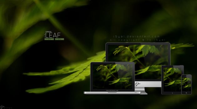Green leaf by i5yal