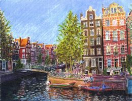 Summer in Amsterdam by reesmeister