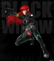 Avenger's Black Widow by ADSouto