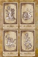 The Minor Arcana by karla-chan
