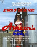 50 foot Amazonia: 1953 Movie Poster by TrekkieGal