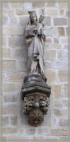 Old church - detail by pery