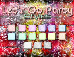 Let's Go Party Styles by annie2377
