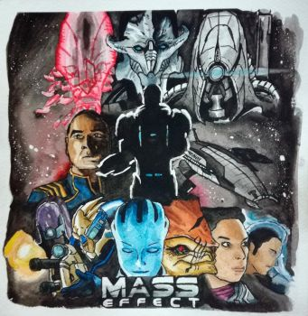 Badass Posters #1 : Mass Effect by SuperTurok
